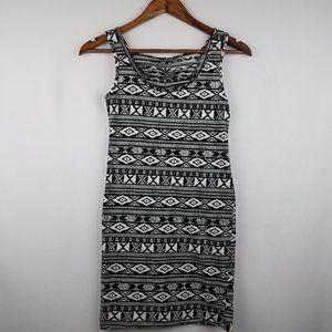 Bozzolo Black & White Dress